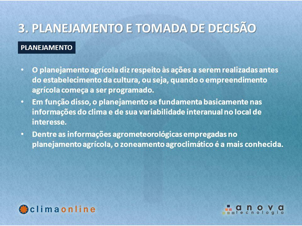 3. PLANEJAMENTO E TOMADA DE DECISÃO
