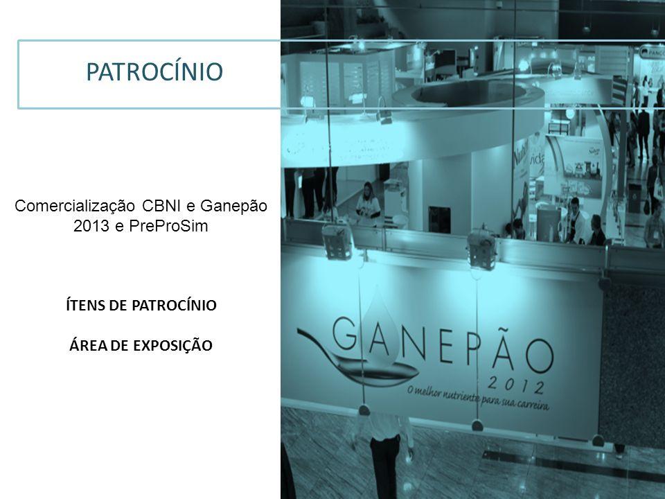 Comercialização CBNI e Ganepão 2013 e PreProSim