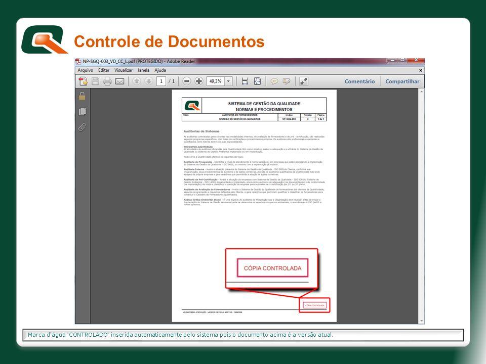 Controle de Documentos