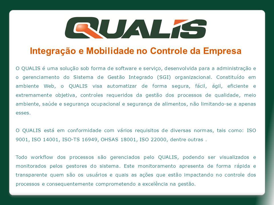 Integração e Mobilidade no Controle da Empresa