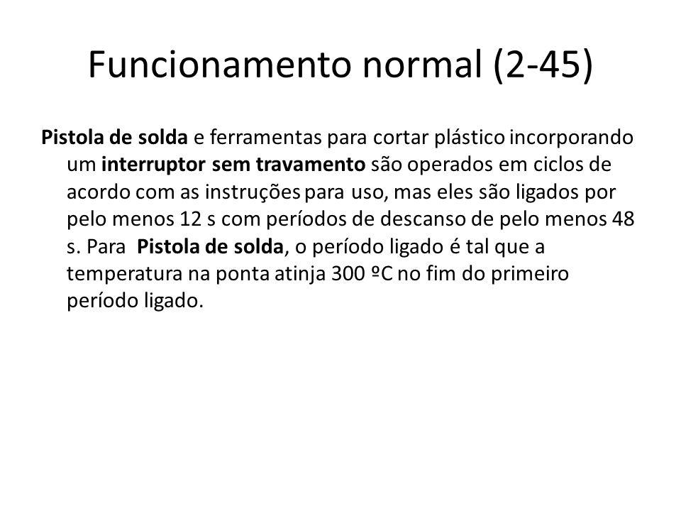 Funcionamento normal (2-45)