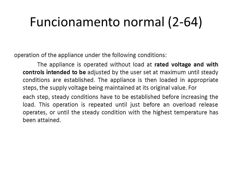 Funcionamento normal (2-64)