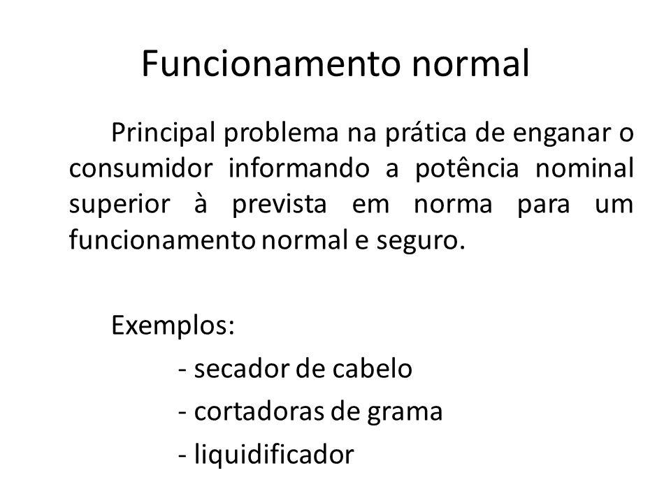 Funcionamento normal