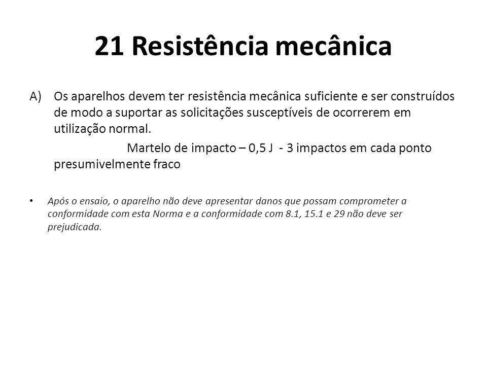 21 Resistência mecânica