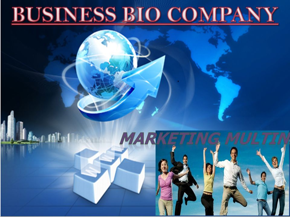 BUSINESS BIO COMPANY Marketing multinivel