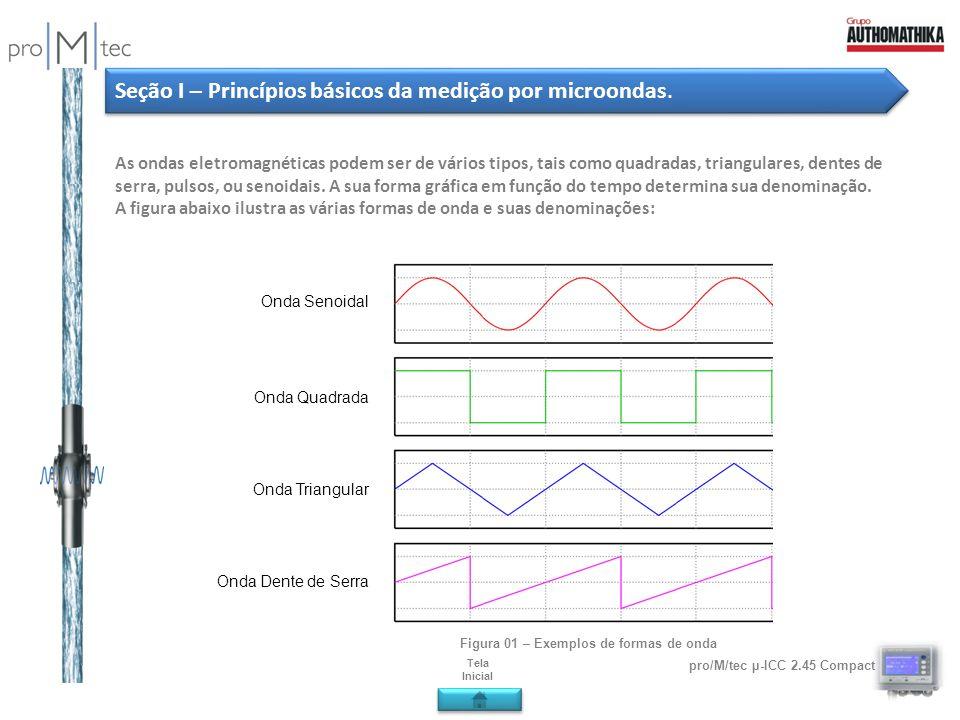 Figura 01 – Exemplos de formas de onda