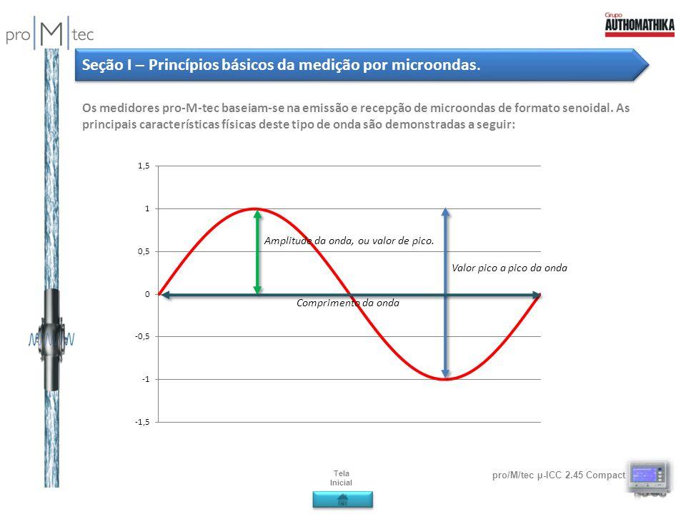 Seção I – Princípios básicos da medição por microondas.