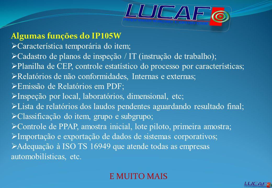 LUCAF - Representação Comercial