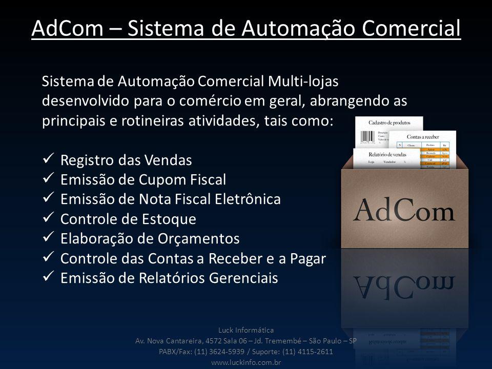 AdCom – Sistema de Automação Comercial