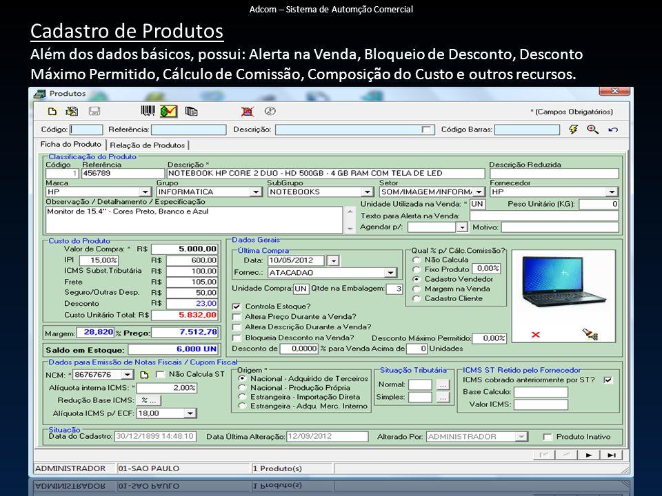 Adcom – Sistema de Automção Comercial