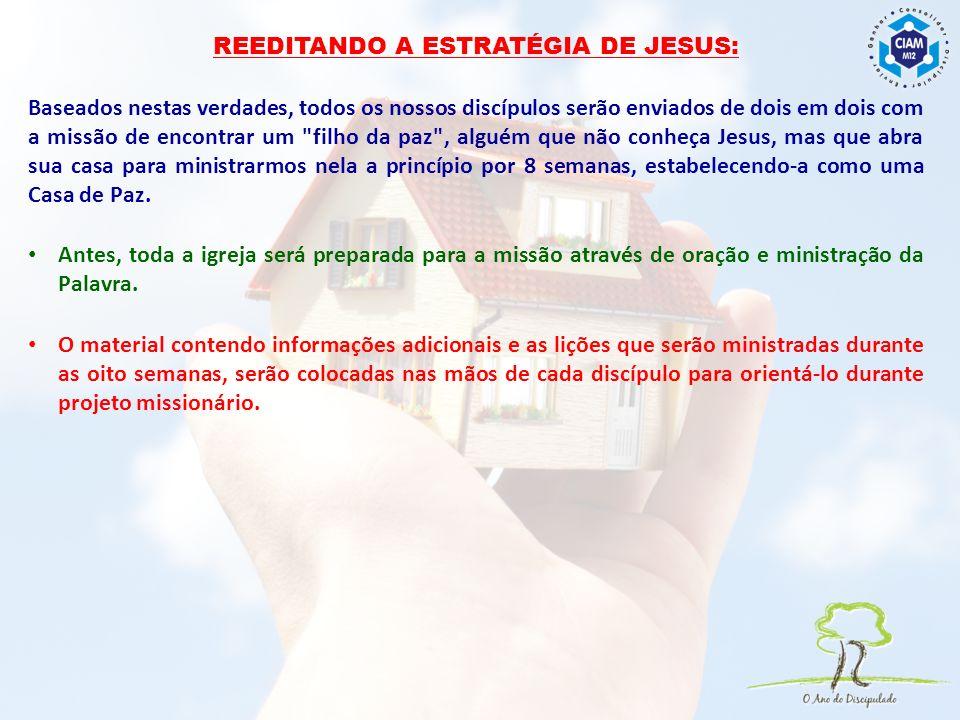 REEDITANDO A ESTRATÉGIA DE JESUS: