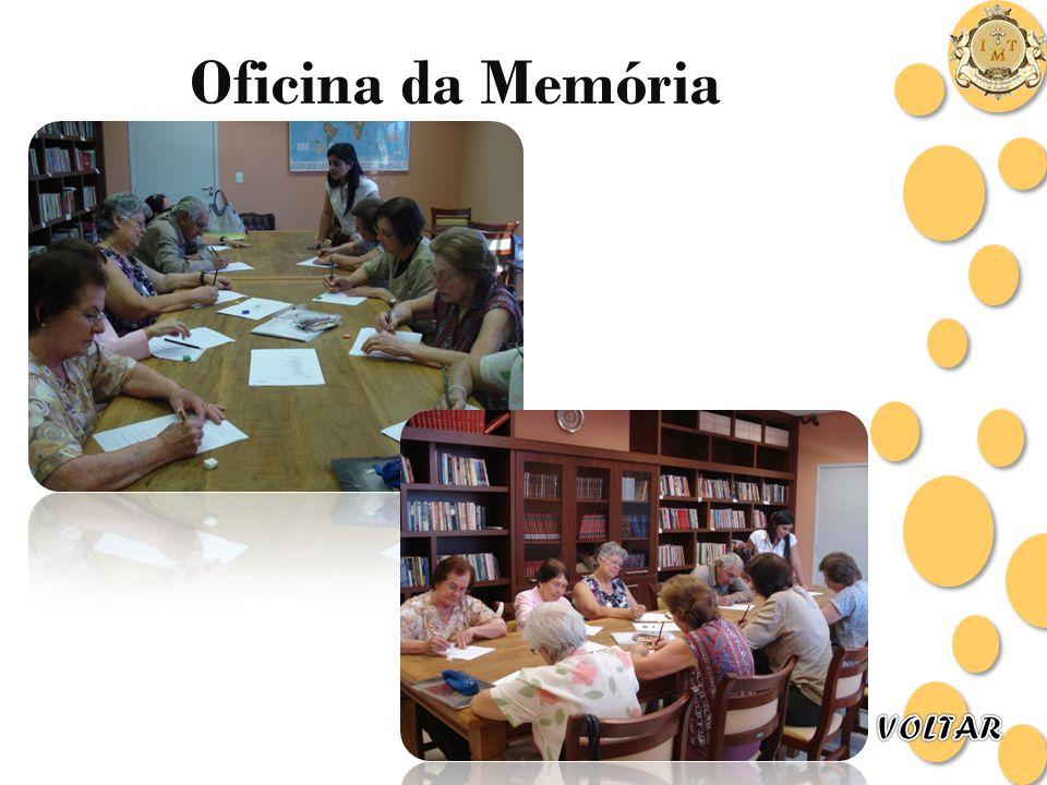 Oficina da Memória VOLTAR