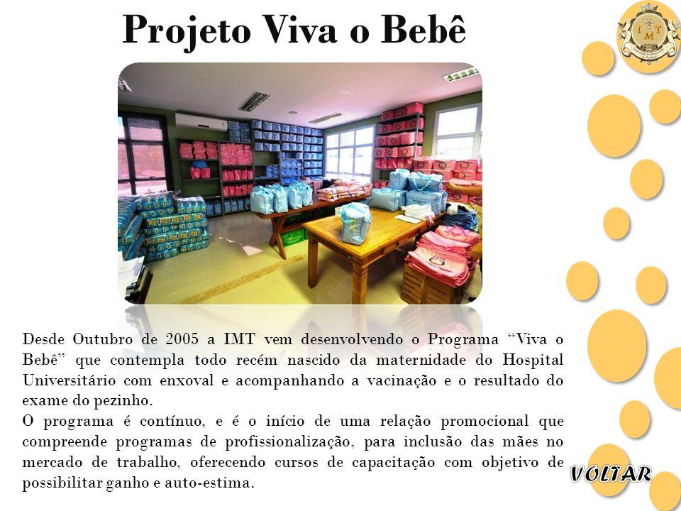 Projeto Viva o Bebê VOLTAR