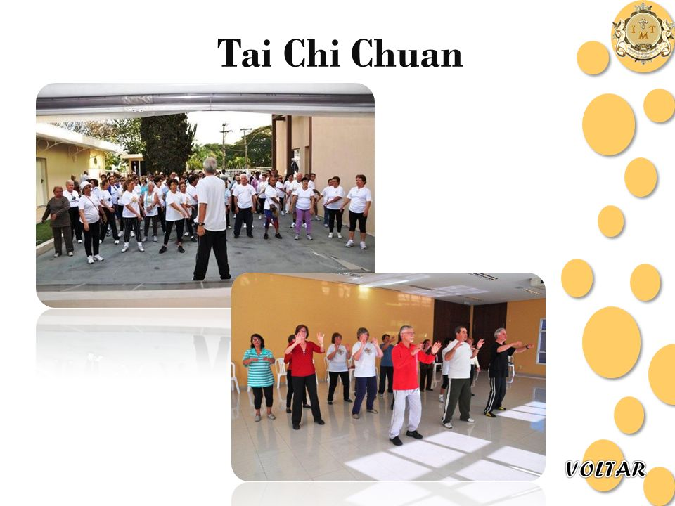 Tai Chi Chuan VOLTAR