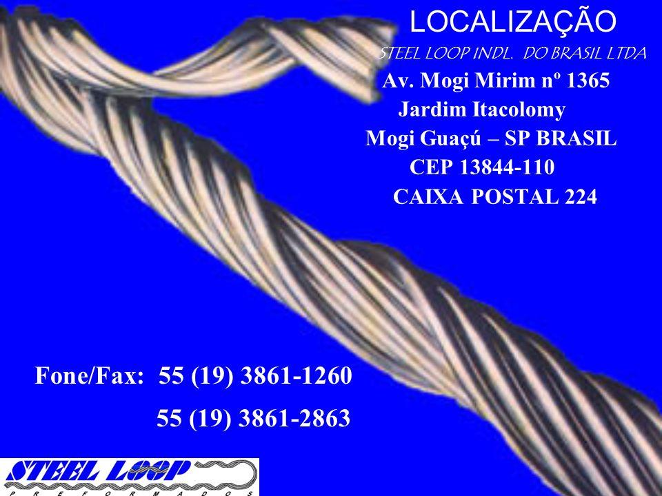 LOCALIZAÇÃO Fone/Fax: 55 (19) 3861-1260 55 (19) 3861-2863