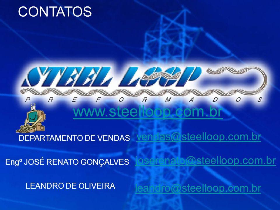 www.steelloop.com.br CONTATOS vendas@steelloop.com.br