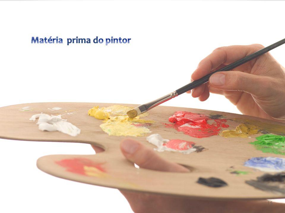 Matéria prima do pintor