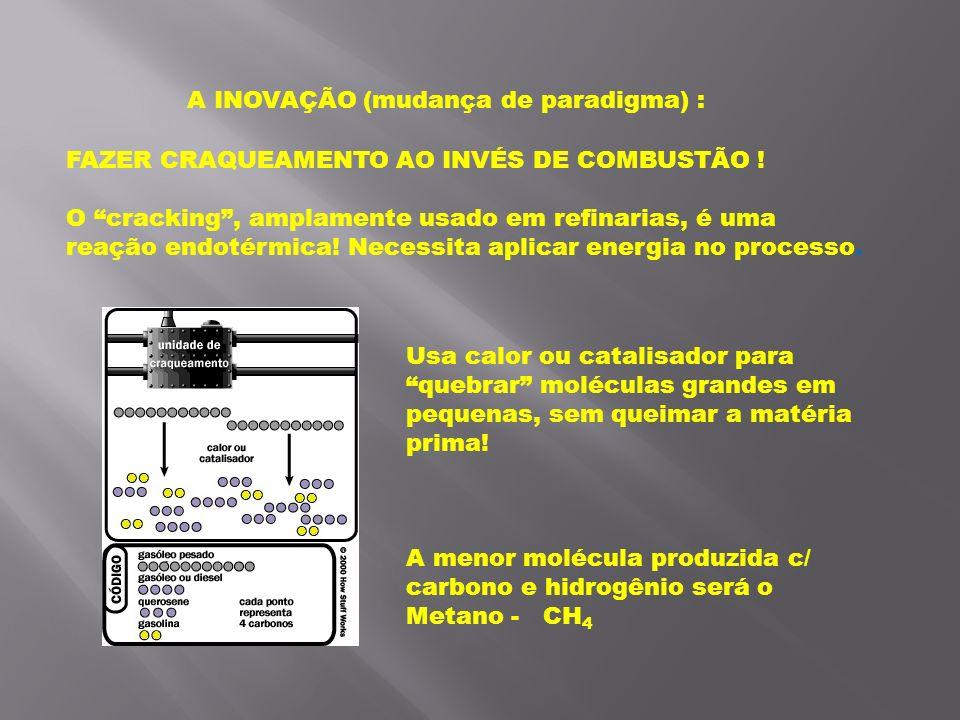 A INOVAÇÃO (mudança de paradigma) :