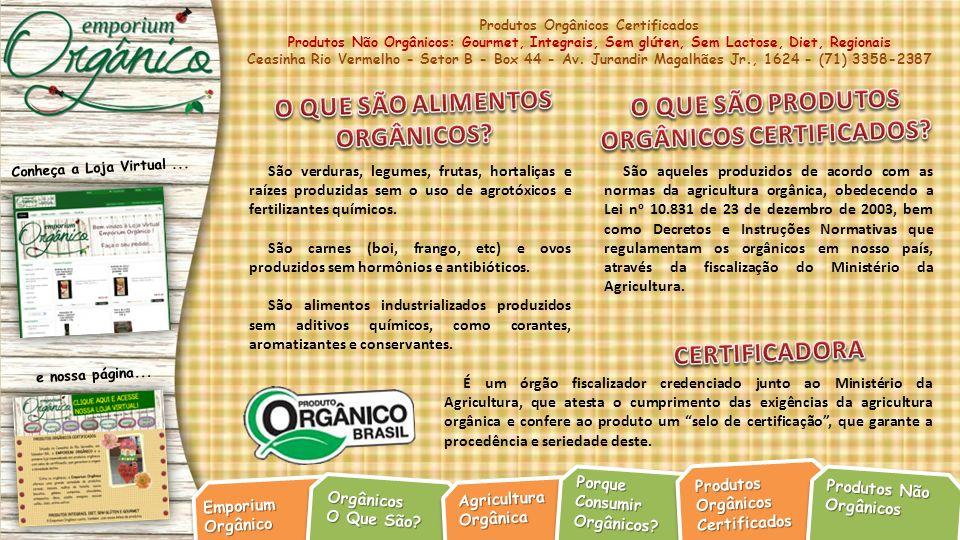 ORGÂNICOS CERTIFICADOS