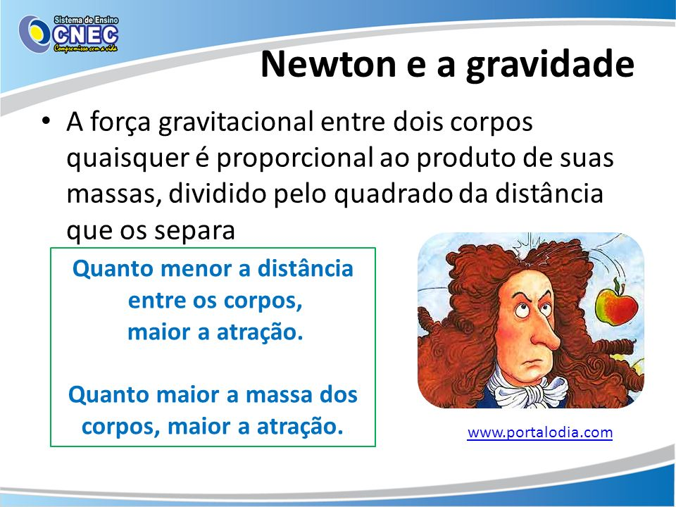 Newton e a gravidade