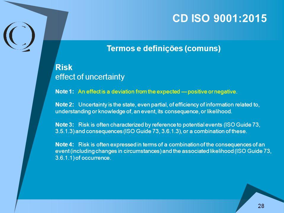 Termos e definições (comuns)