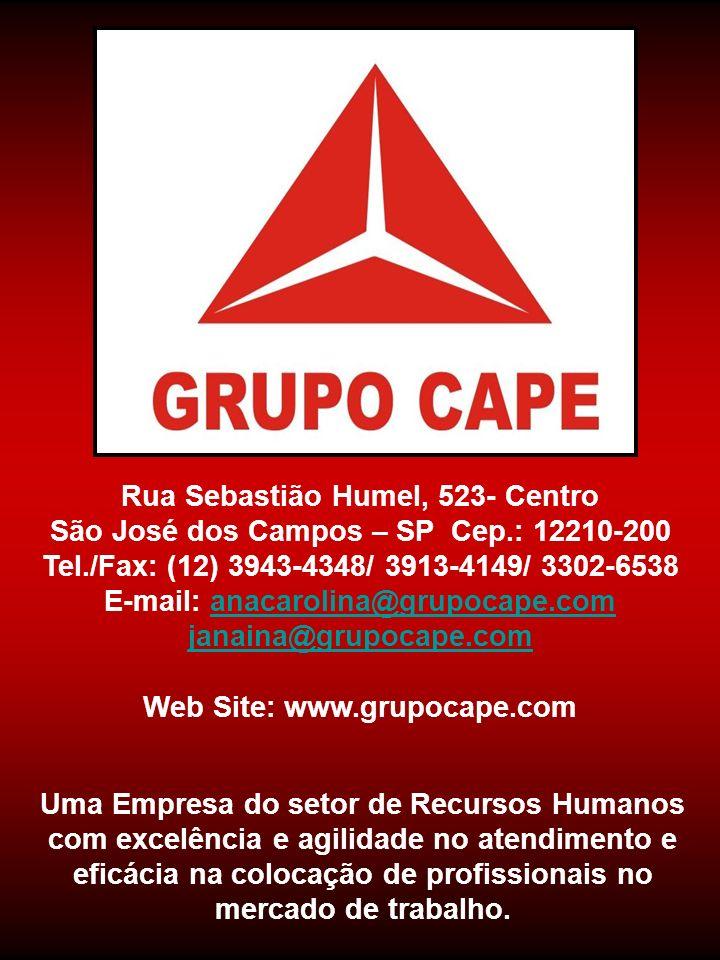 Rua Sebastião Humel, 523- Centro