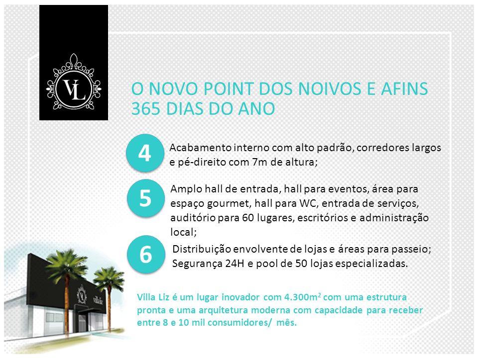 4 5 6 O NOVO POINT DOS NOIVOS E AFINS 365 DIAS DO ANO