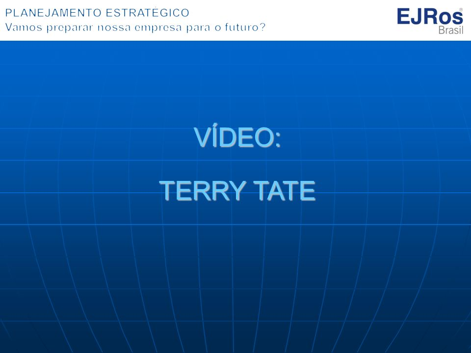 VÍDEO: TERRY TATE