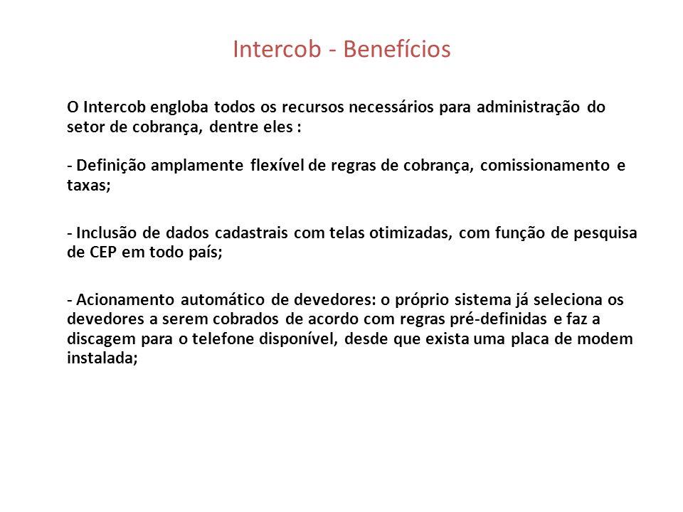 Intercob - Benefícios