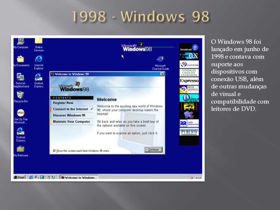 1998 - Windows 98