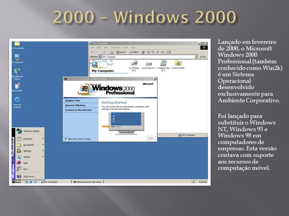 2000 – Windows 2000