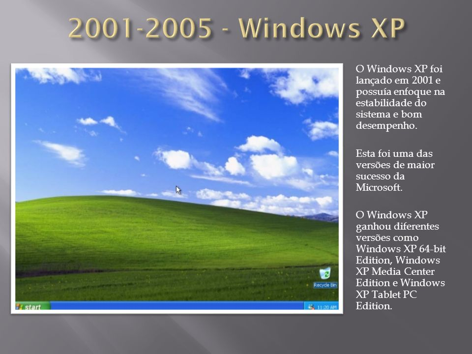 2001-2005 - Windows XP