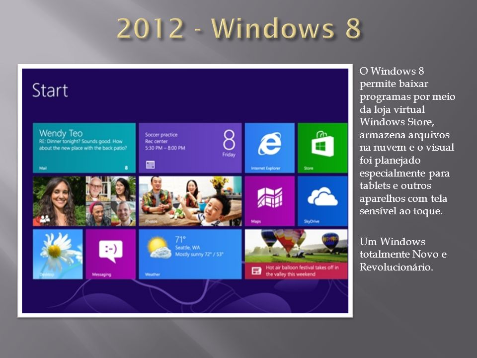 2012 - Windows 8