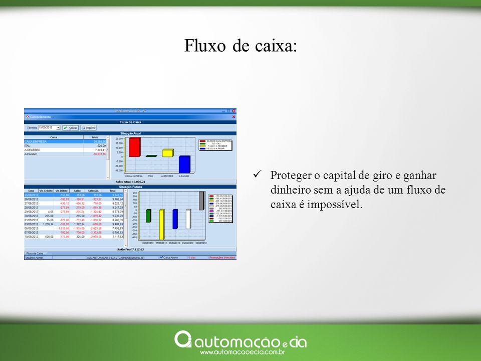 Fluxo de caixa: Proteger o capital de giro e ganhar dinheiro sem a ajuda de um fluxo de caixa é impossível.
