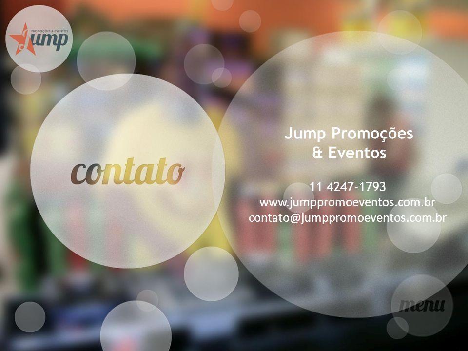 www.jumppromoeventos.com.br contato@jumppromoeventos.com.br