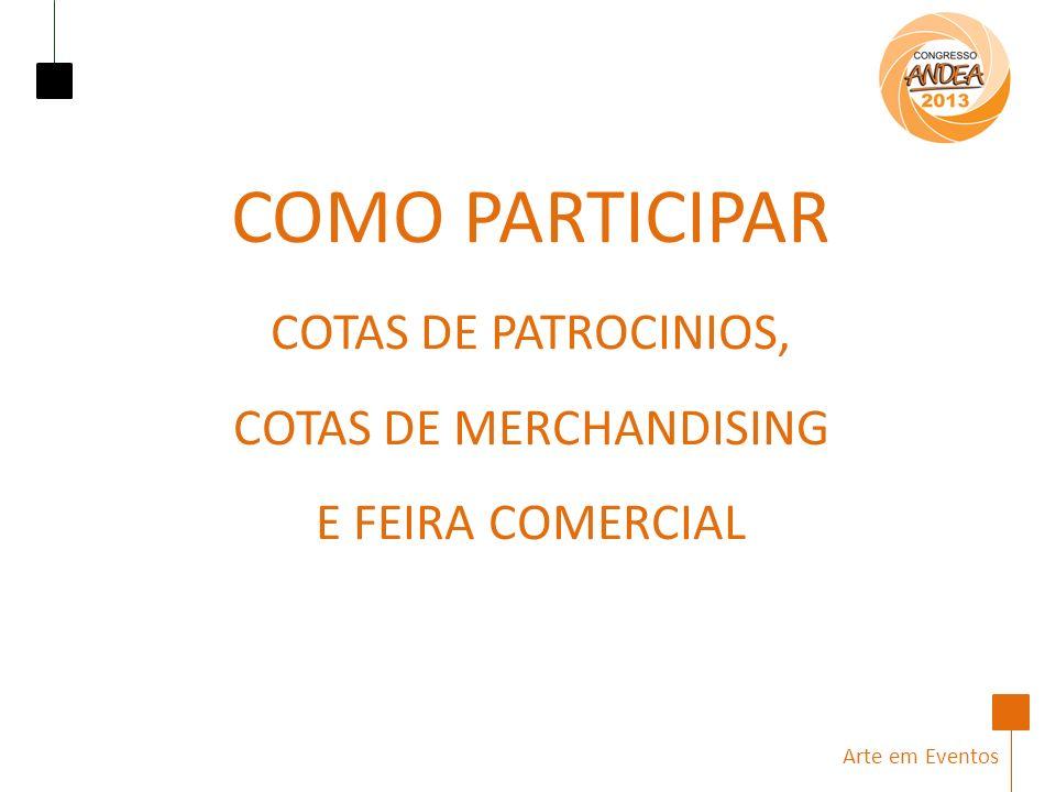 COMO PARTICIPAR COTAS DE PATROCINIOS,