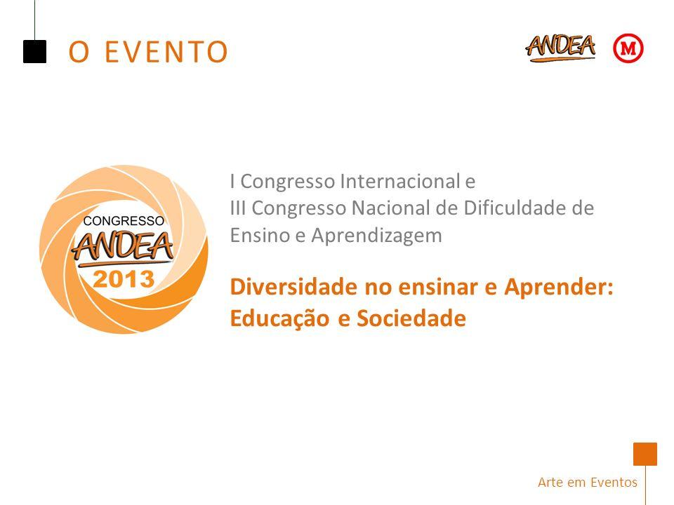 O EVENTO I Congresso Internacional e
