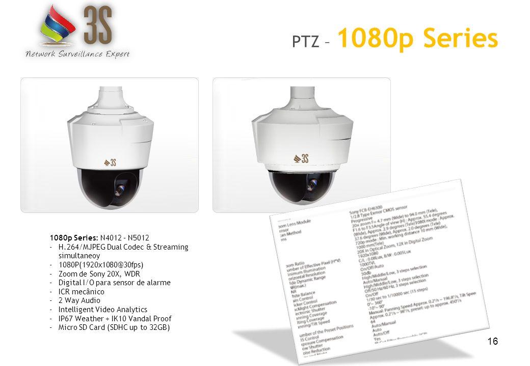 PTZ – 1080p Series 1080p Series: N4012 – N5012