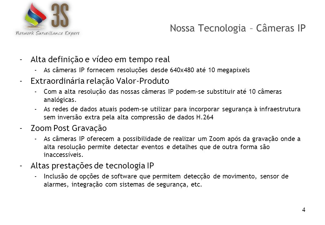 Nossa Tecnologia – Câmeras IP