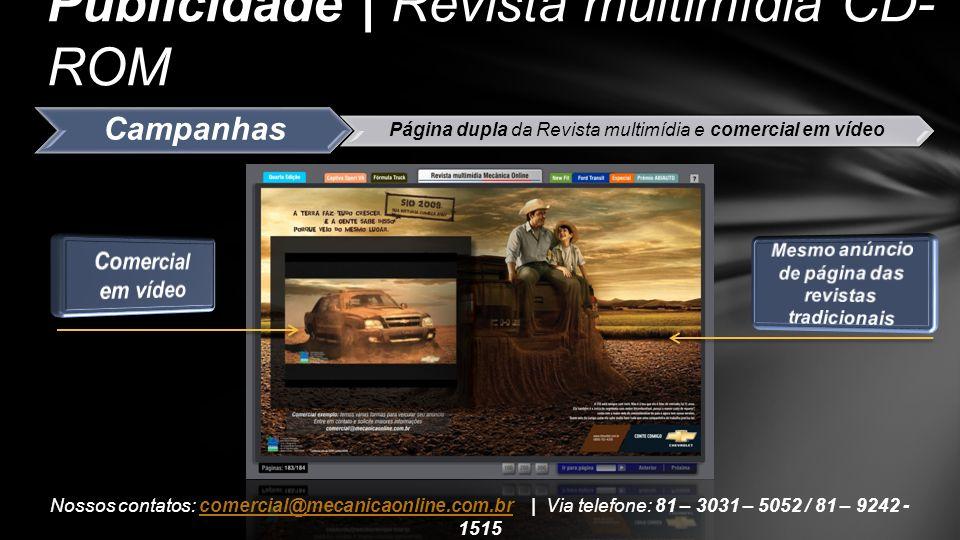 Publicidade | Revista multimídia CD- ROM