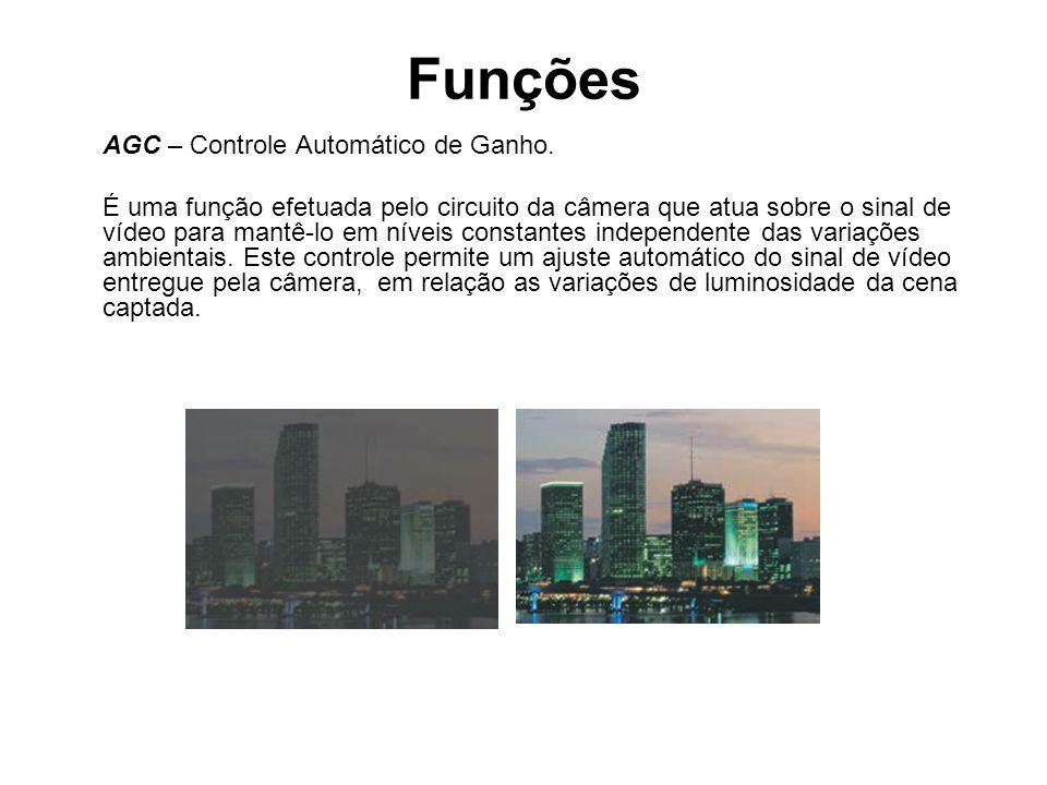 Funções AGC – Controle Automático de Ganho.
