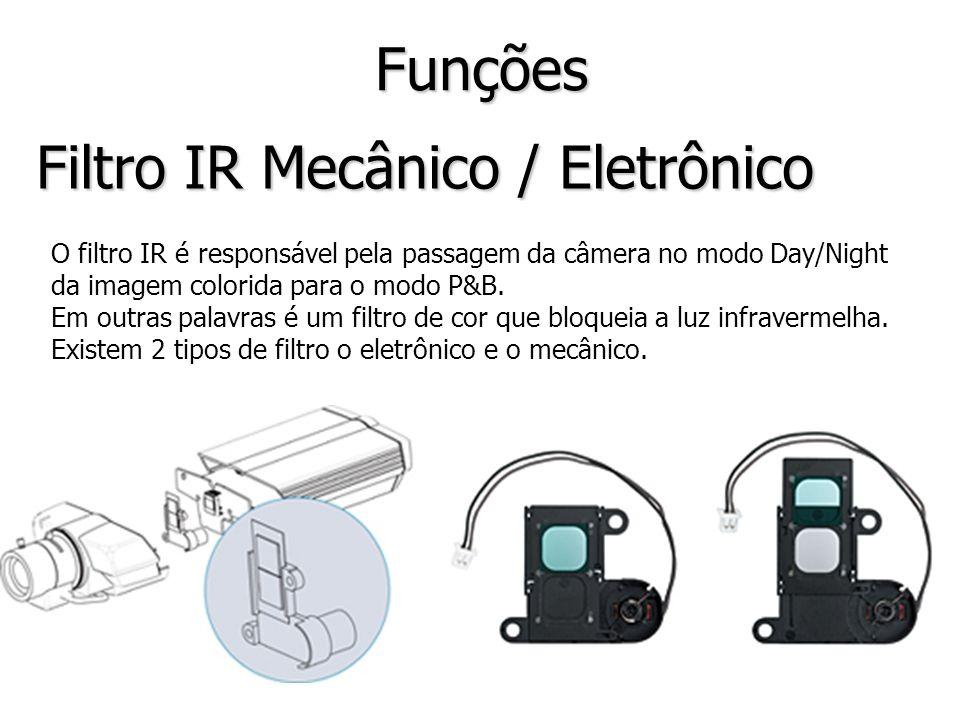 Filtro IR Mecânico / Eletrônico