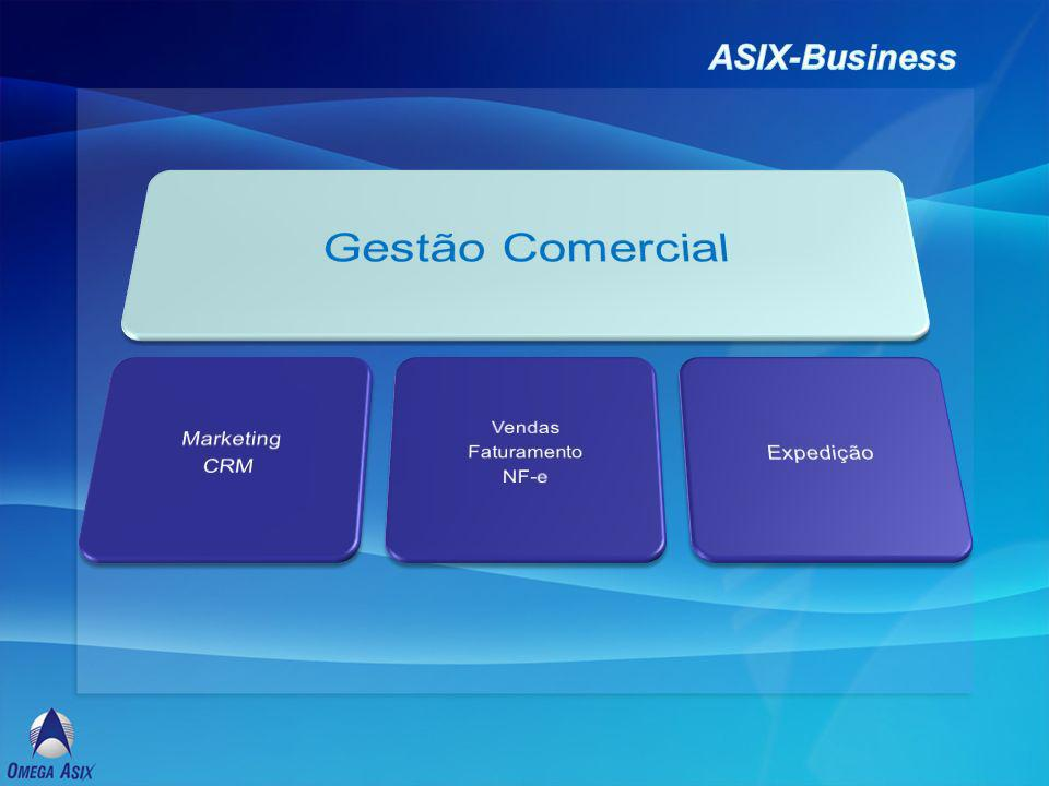 Gestão Comercial ASIX-Business Marketing Expedição CRM Vendas