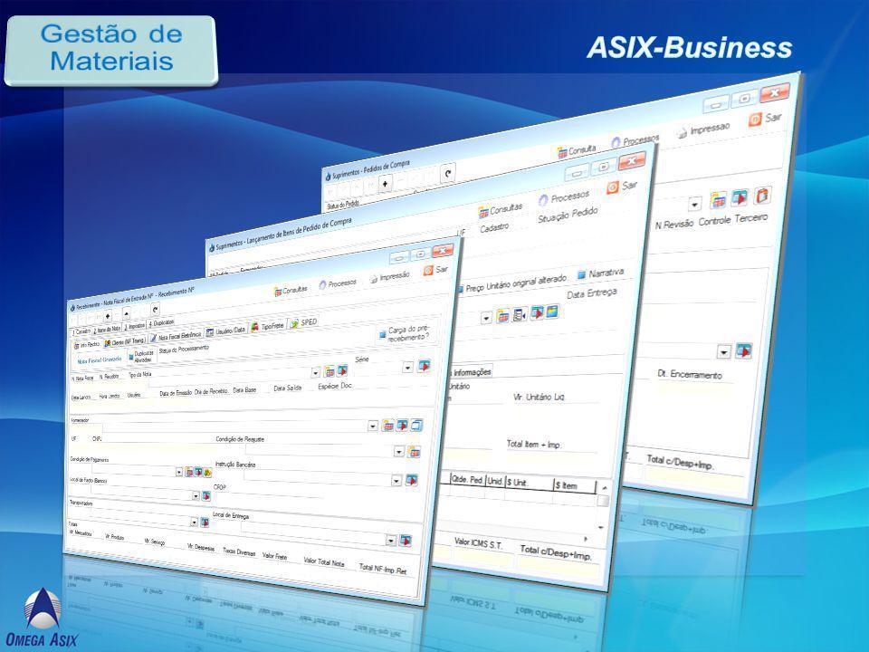 Gestão de Materiais ASIX-Business