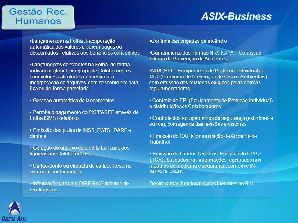 Gestão Rec. Humanos ASIX-Business