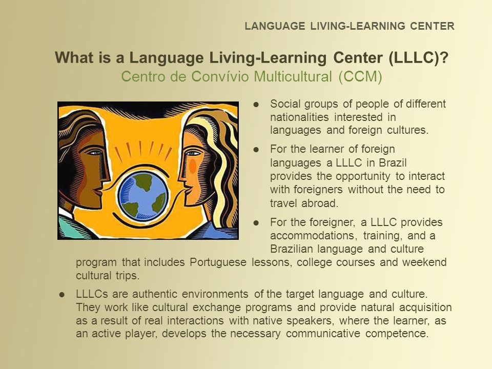 What is a Language Living-Learning Center (LLLC)
