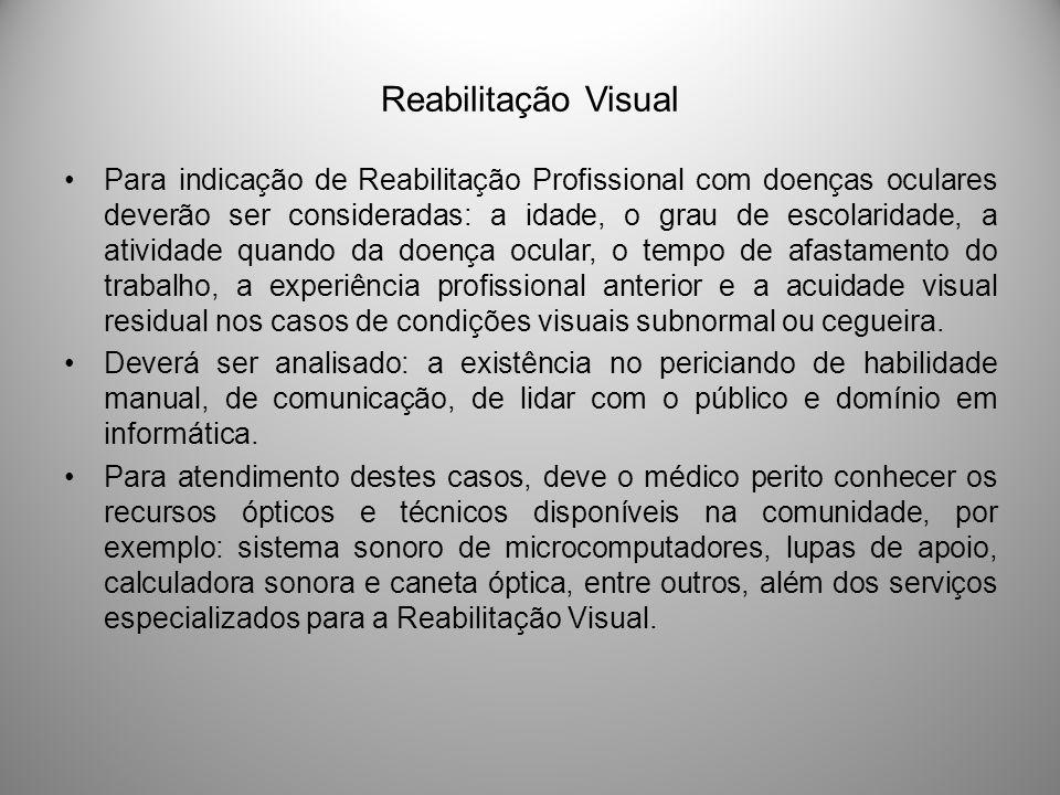 Reabilitação Visual