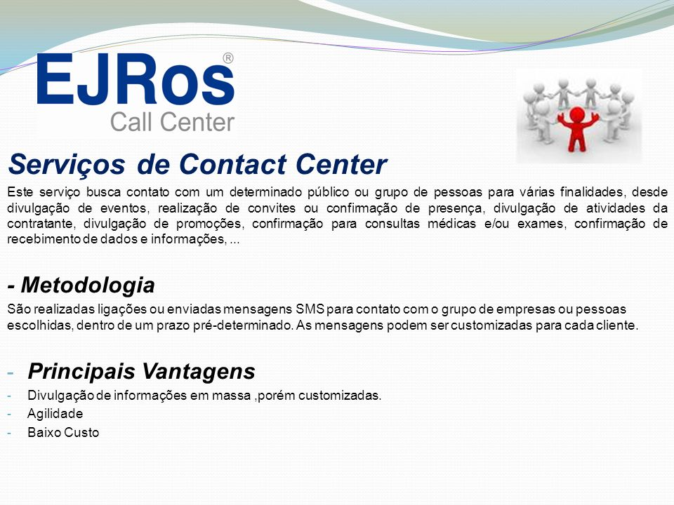 Serviços de Contact Center