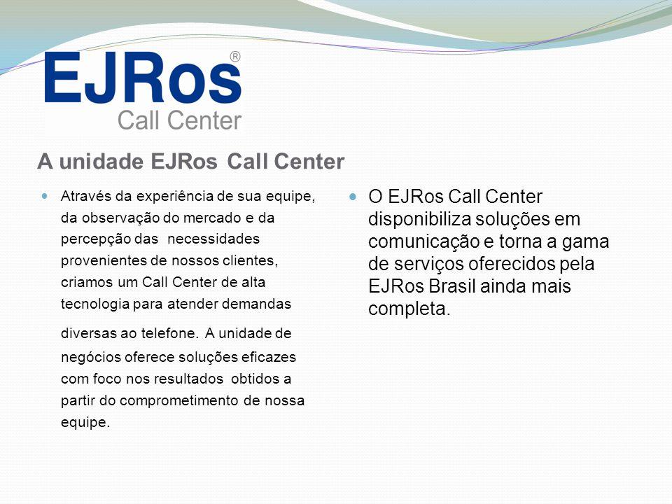 A unidade EJRos Call Center