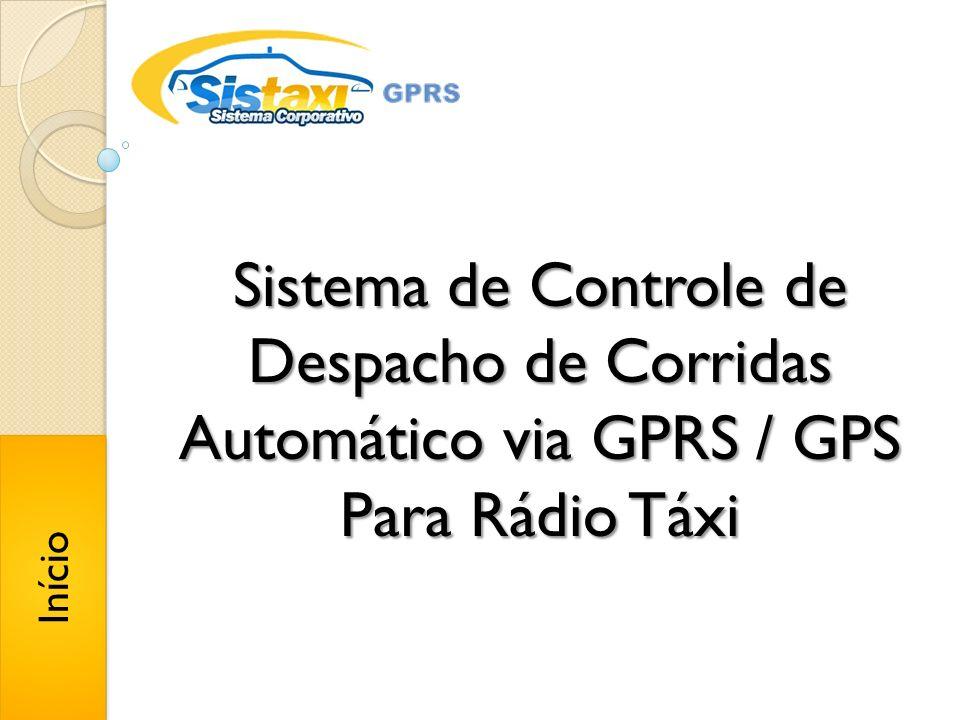Sistema de Controle de Despacho de Corridas Automático via GPRS / GPS Para Rádio Táxi